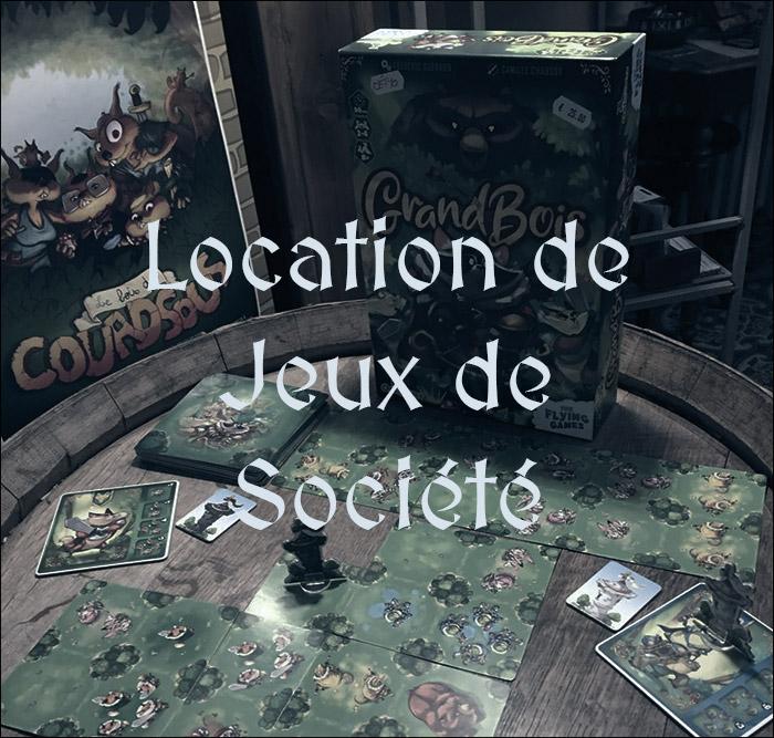 Location de jeux de société à Charlieu